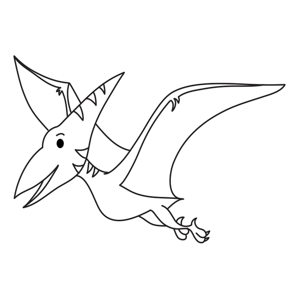 Craft Stamp Pterodactyl Stamp