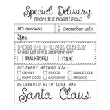 Craft Stamp Santa Checklist Stamp