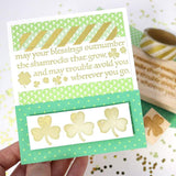 Craft Stamp Shamrock Stamp