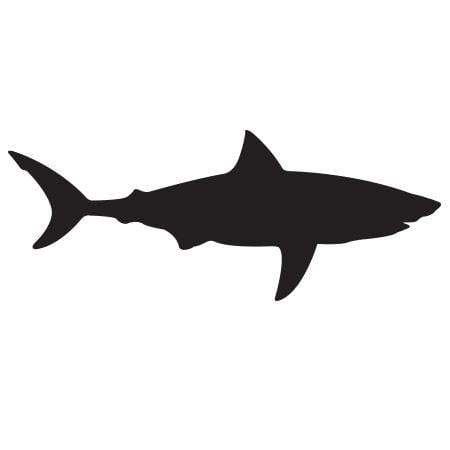 Craft Stamp Shark Silhouette Stamp