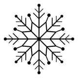 Craft Stamp Snowflake 4 Stamp