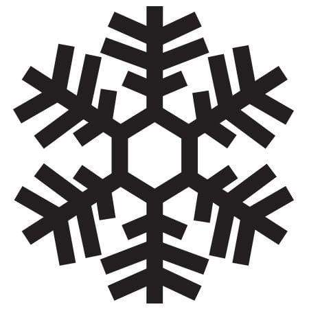 Craft Stamp Snowflake Stamp
