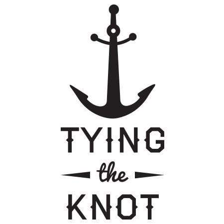 Craft Stamp Tying the Knot Anchor Stamp