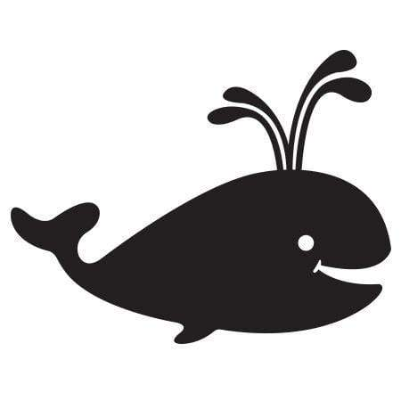 Craft Stamp Whale Stamp