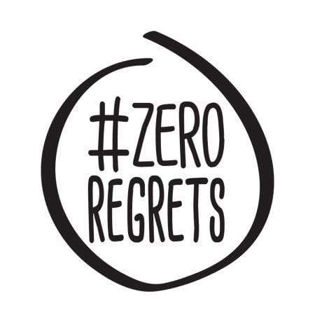 Craft Stamp Zero Regrets Stamp
