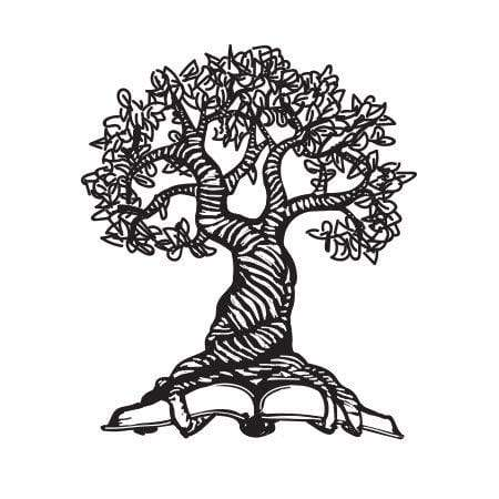 Craft Stamps Ancient Tree Ex Libris Stamp