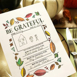Craft Stamps Be Grateful Thanksgiving Stamp