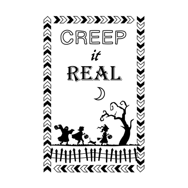 Craft Stamps Creep It Real Stamp