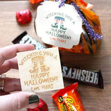 Craft Stamps Custom Halloween Treat Bag Stamp