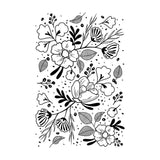 Craft Stamps Floral Pattern Stamp