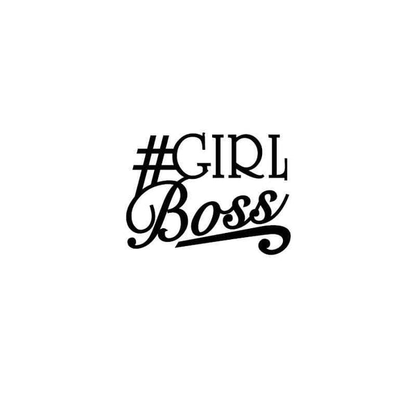 Craft Stamps Girl Boss Stamp
