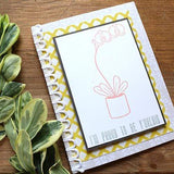 Craft Stamps I'm Proud To Be Y'Orchid