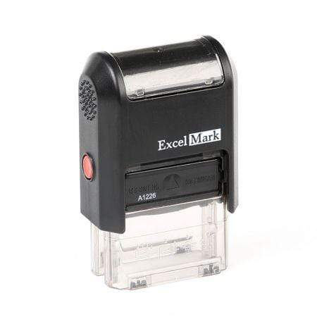 Custom Stamps ExcelMark A-1226 Self-Inking Stamp
