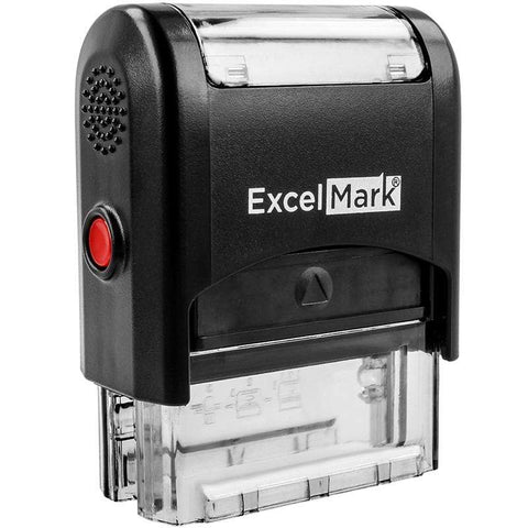 Custom Stamps ExcelMark A-1539 Self-Inking Stamp