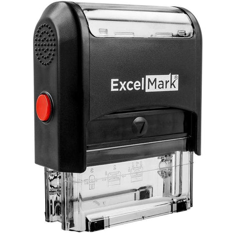 Custom Stamps ExcelMark A-1848 Self-Inking Stamp