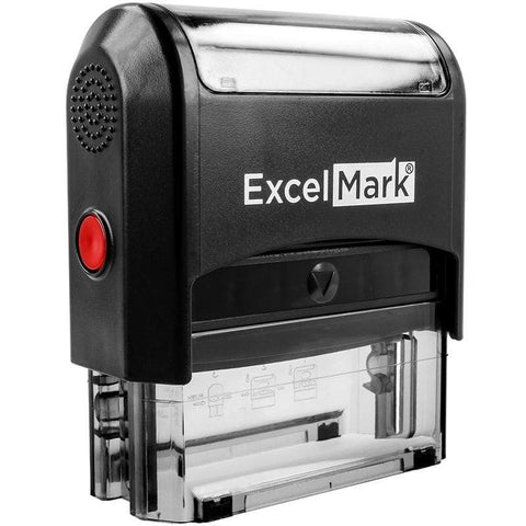 Custom Stamps ExcelMark A-2359 Self-Inking Stamp