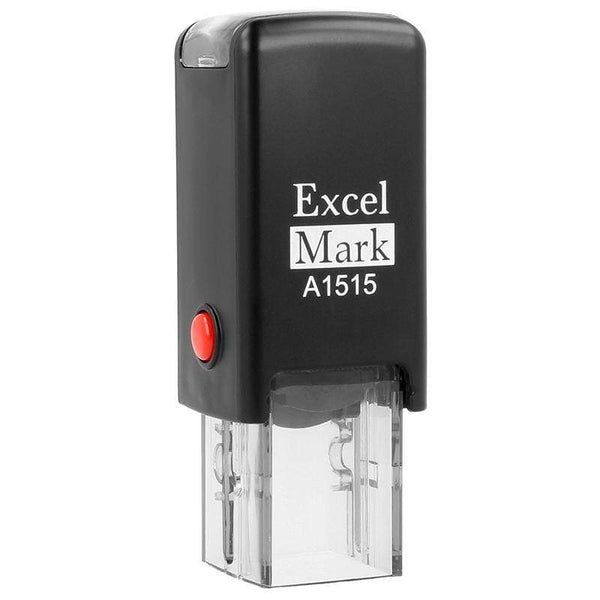 Custom Stamps ExcelMark A1515 Self-Inking Stamp