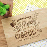Cutting Boards Cooking Quote Cutting Board