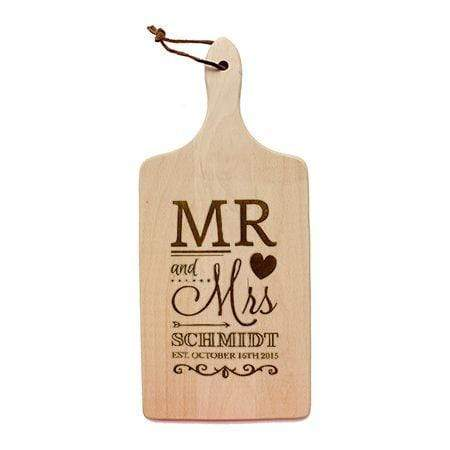 Cutting Boards Mr and Mrs Cutting Board