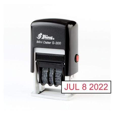 Date Stamps Shiny S300 Mini Dater