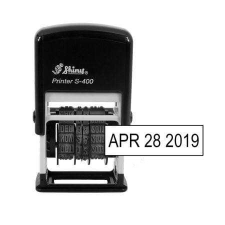 Date Stamps Shiny S400 Mini Dater