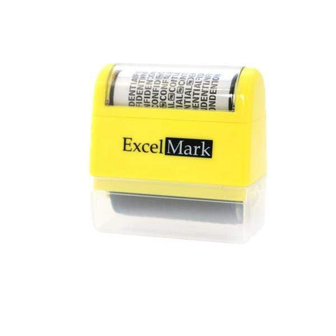 ID Theft Stamps ExcelMark Rolling Identity Theft Guard Stamp