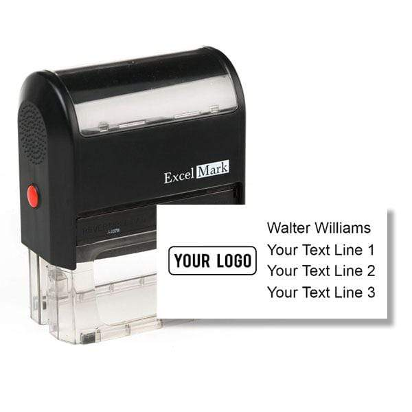 Logo Stamps XL Self-Inking Logo Stamp