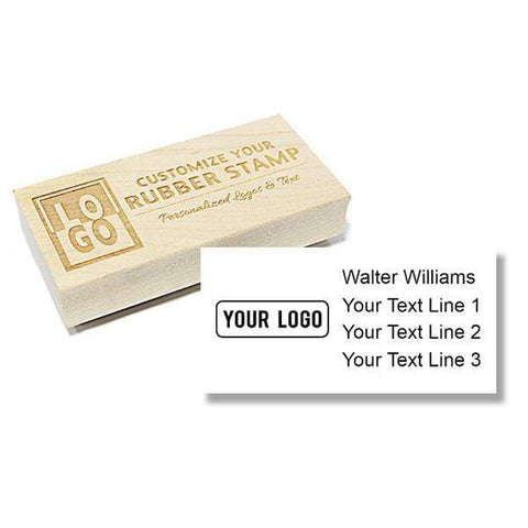 Logo Stamps XL Wood Logo Stamp