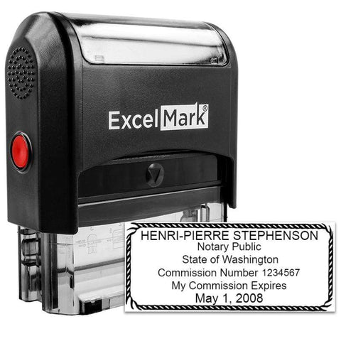 Notary Stamp Washington Notary Stamp - Self-Inking