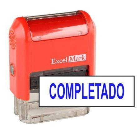 Office Stamps Completado Stamp (Two Color)