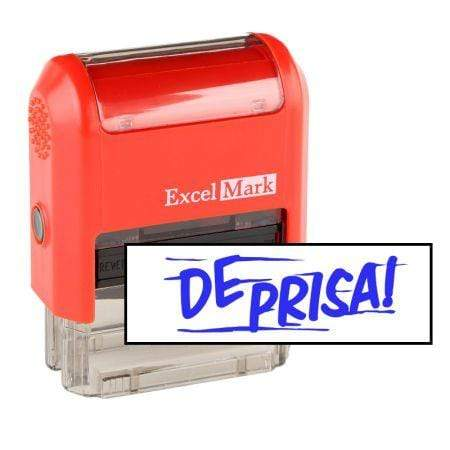 Office Stamps De Prisa Stamp (Two Color)