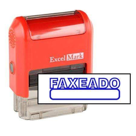 Office Stamps Faxeado Stamp (Two Color)