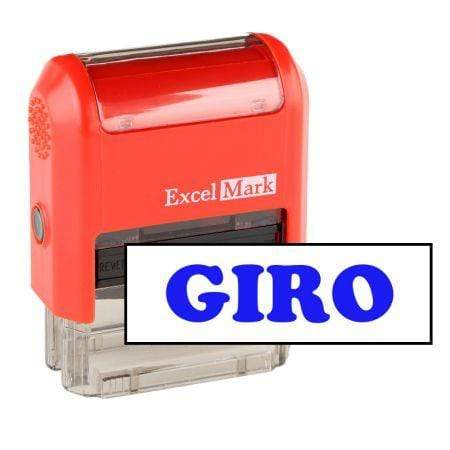 Office Stamps Giro Stamp (Two Color)