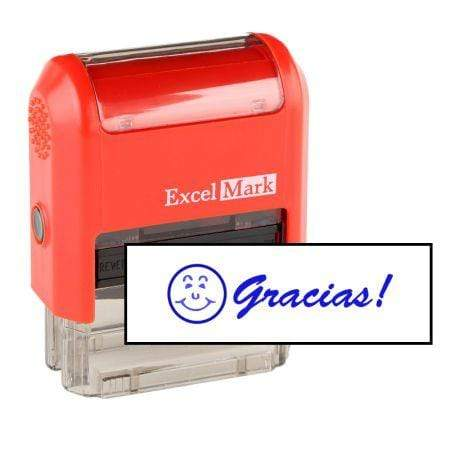 Office Stamps Gracias Stamp (Two Color)