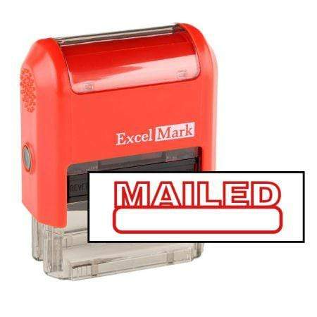 Office Stamps Mailed Stamp (Two Color)
