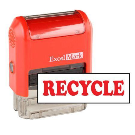Office Stamps Recycle Stamp (Two Color)