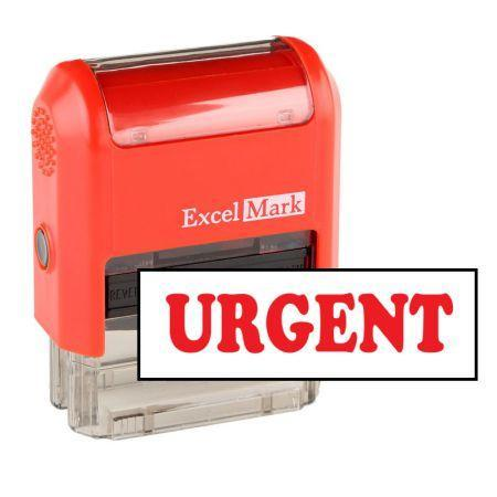 Office Stamps Urgent Stamp (Two Color)
