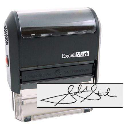Signature Stamps Extra Large Signature Stamp