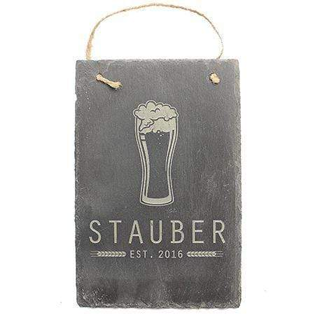 Slate Boards Beer Engraved Slate Sign