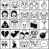 Stamp Kits Emoji 2 Stamp Set