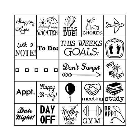 Stamp Kits Planner Stamp Set
