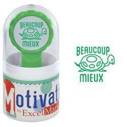 Teacher Stamps Beaucoup Mieux Stamp