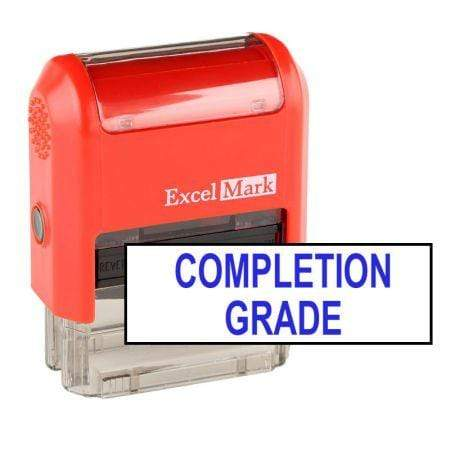 Teacher Stamps Completion Grade Stamp (Two Color)