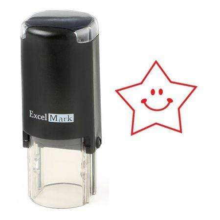 Teacher Stamps Happy Star Stamp