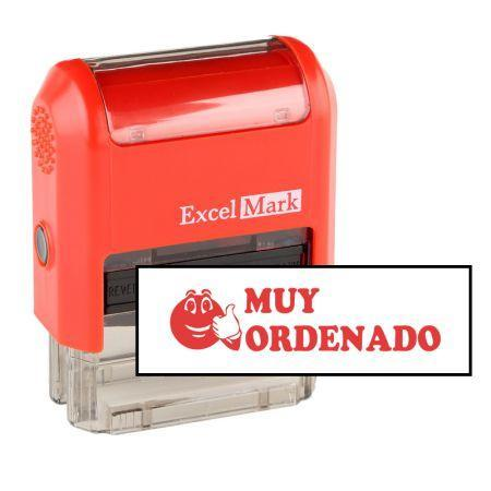 Teacher Stamps Muy Ordenado Stamp (Two Color)