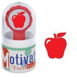 Teacher Stamps Red Apple Stamp