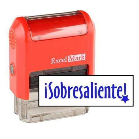 Teacher Stamps Sobresaliente Stamp (Two Color)