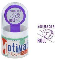 Teacher Stamps You Are On A Roll Stamp
