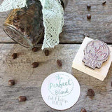 Wedding Stamps The Perfect Blend Custom Favor Stamp
