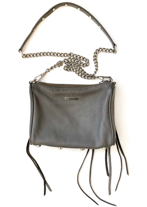Mini 5-Zip Crossbody Bag